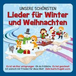 Unsere schönsten Lieder für Winter und Weihnachten, 1 Audio-CD