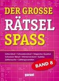 Der große Rätselspaß - Bd.8