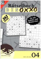 Binoxxo Rätselbuch - Bd.4