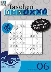 Taschen-Binoxxo-Rätsel - Bd.6