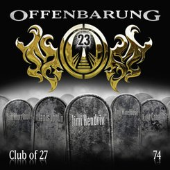 Offenbarung 23 - Club of 27, Audio-CD