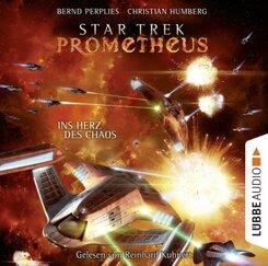 Star Trek Prometheus - Ins Herz des Chaos, 10 Audio-CDs