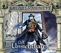 Gruselkabinett - Der Unsichtbare, 2 Audio-CDs