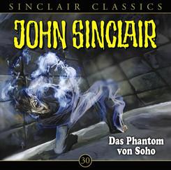 John Sinclair Classics - Das Phantom von Soho, Audio-CD