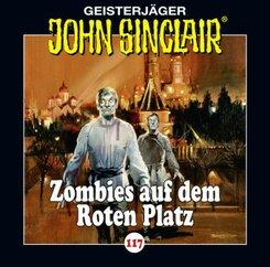 John Sinclair - Zombies auf dem Roten Platz, Audio-CD