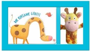 Vorlesezeit mit Tierfingerpuppen - Die einsame Giraffe