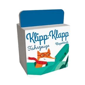 Klipp-Klapp-Klapperbuch - Fahrzeuge, m. Soundeffekten