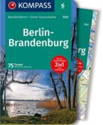 KOMPASS Wanderführer Berlin-Brandenburg, m. 1 Karte