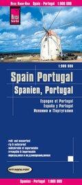 Reise Know-How Landkarte Spanien, Portugal (1:900.000)