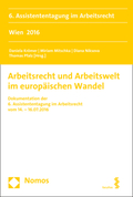 Arbeitsrecht und Arbeitswelt im europäischen Wandel
