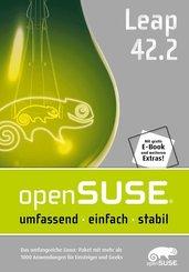 openSUSE Leap 42.2 DVD + Handbuch - Das umfangreiche Linux-Paket
