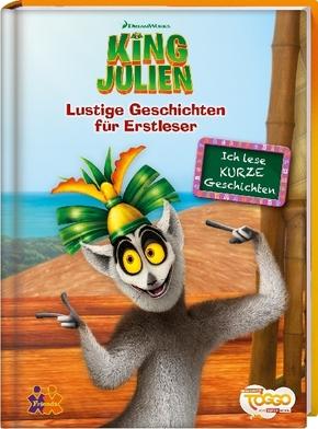 King Julien. Lustige Geschichten für Erstleser