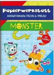 Papierwerkstatt. Monster
