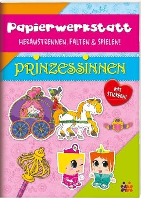 Papierwerkstatt. Prinzessinnen