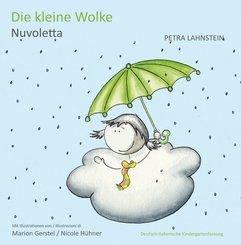 Die kleine Wolke I, Kindergartenfassung - Deutsch-Italienisch