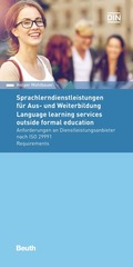 Sprachlerndienstleistungen für Aus- und Weiterbildung / Language learning services outside formal education