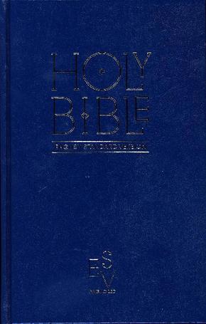 Bibelausgaben: Holy Bible: English Standard Version (ESV) - Anglicised Pew Bible (Blue Colour); HarperCollins UK