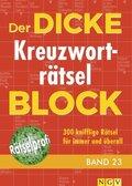 Der dicke Kreuzworträtsel-Block - Bd.23