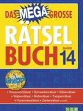 Das megagroße Rätselbuch - Bd.14