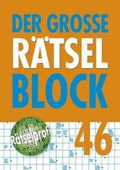 Der große Rätselblock - Bd.46