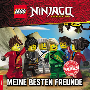 LEGO® NINJAGO™ Freundebuch - Meine besten Freunde
