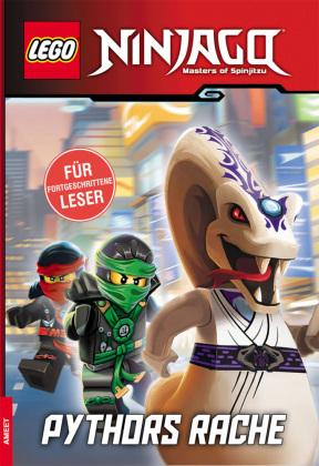 LEGO® NINJAGO™ - Pythors Rache, Lesebuch