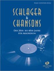 Schlager & Chansons der 20er- bis 40er-Jahre, bearbeitet für Akkordeon