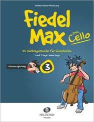 Fiedel-Max goes Cello 3 - Klavierbegleitung - Vol.3