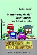 Nummernschilder Australiens und der Inseln im Süden