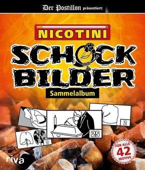 Nicotini - Schockbilder-Sammelalbum. Der Postillon präsentiert