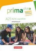 Prima plus - DaZ für Jugendliche, Leben in Deutschland: A2 - Arbeitsbuch mit MP3-Download