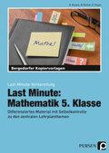 Last Minute: Mathematik 5. Klasse