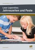 Lese-Leporellos: Jahreszeiten und Feste, Klasse 1-2