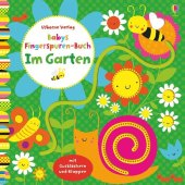 Babys Fingerspuren-Buch: Im Garten