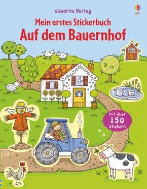 Mein erstes Sticker-Buch: Mein erstes Stickerbuch: Auf dem Bauernhof