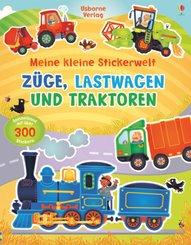 Meine kleine Stickerwelt: Züge, Lastwagen und Traktoren