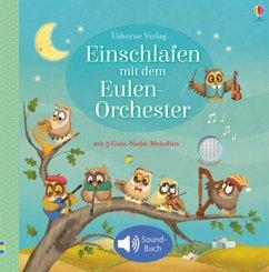 Einschlafen mit dem Eulen-Orchester, m. Soundeffekten