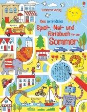 Das extradicke Spiel-, Mal- und Ratebuch für den Sommer