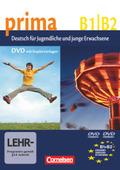 Prima - Deutsch für Jugendliche/junge Erwachsene: DVD-Video und DVD-ROM; .5/6