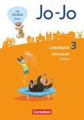 Jo-Jo Lesebuch, Allgemeine Ausgabe, Neubearbeitung (2016): 3. Schuljahr, Arbeitsheft Fördern und Inklusion