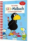 Der kleine Rabe Socke: Das lustige 1 2 3 - Malbuch vom kleinen Raben Socke