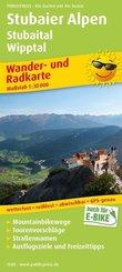 PublicPress Wander- und Radkarte Stubaier Alpen, Stubaital, Wipptal