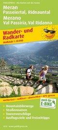 PublicPress Wander- und Radkarte Meran, Passeiertal, Ridnauntal / Merano, Val Passiria, Val Ridanna