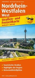 PublicPress Straßen- und Freizeitkarte Nordrhein-Westfalen West