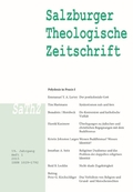 Salzburger Theologische Zeitschrift - H.2015/1