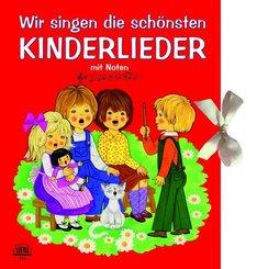 Wir singen die schönsten Kinderlieder, m. Audio-CD