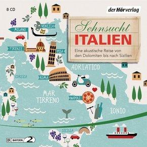 Sehnsucht Italien, 8 Audio-CDs