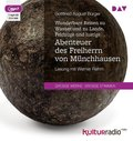 Wunderbare Reisen zu Wasser und zu Lande, Feldzüge und lustige Abenteuer des Freiherrn von Münchhausen, 1 MP3-CD