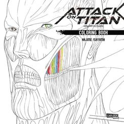 Attack on Titan - Coloring Book