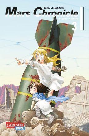 Battle Angel Alita - Mars Chronicle - Bd.3